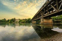 Sesto Calende am Ticino Fluss