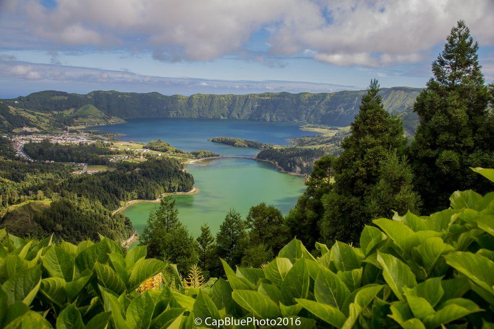 Sete Cidades  Lagoa Azul y Lagoa Verde