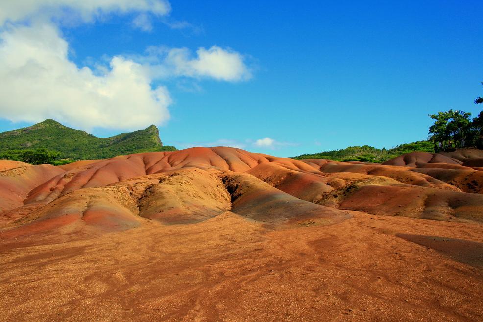 seven coloured earth/Mauritius