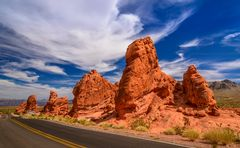 Seven Sisters, Valley of Fire , Nevada, USA