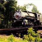 'Seventies Summer Steam in the Virginia Piedmont