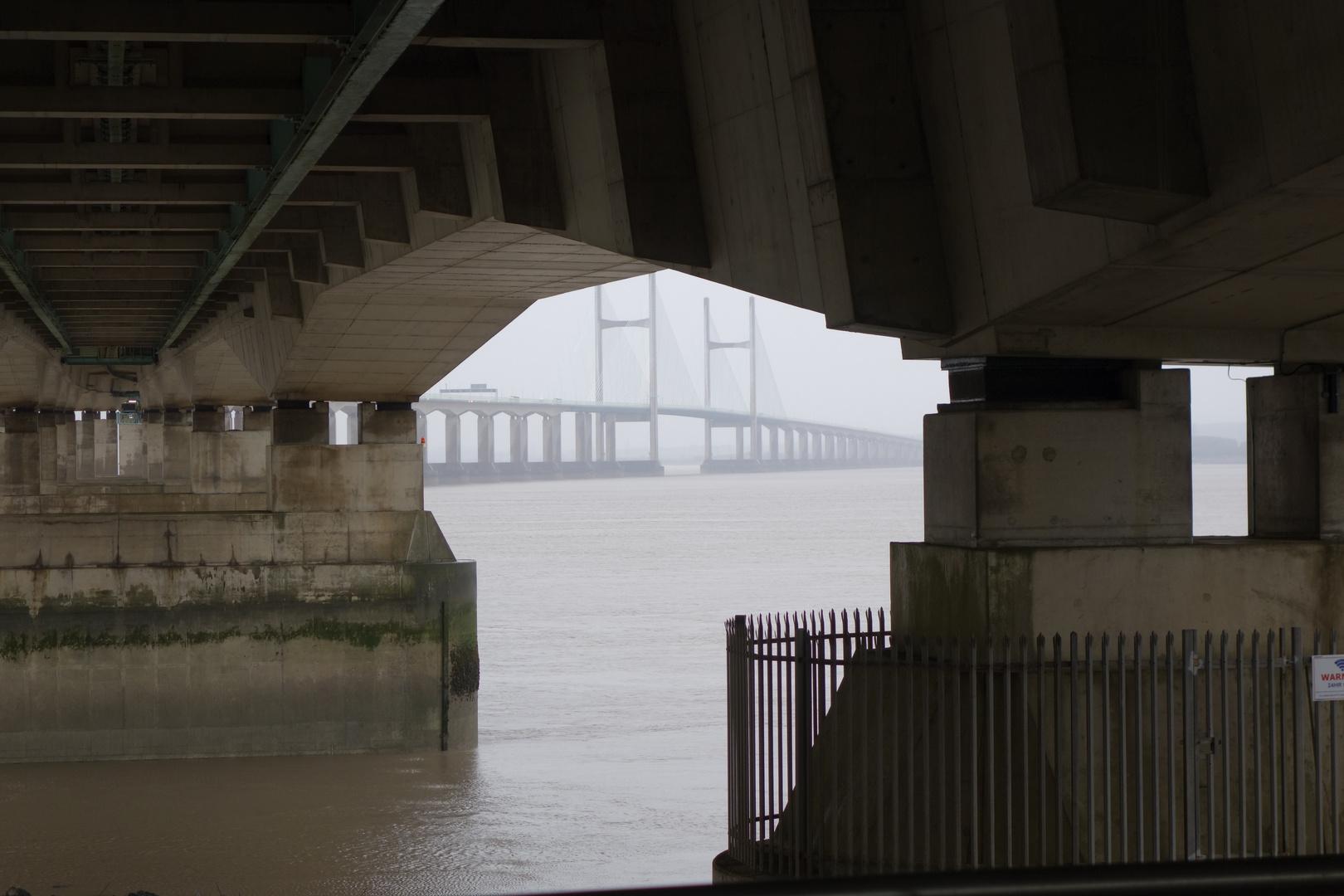 severn bridge, wales