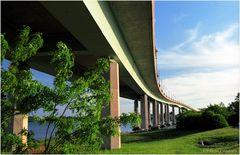 SevernScape No.6 - Naval Academy Bridge from Jonas Green Park
