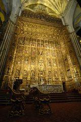 Sevilla . Altar in der Kathedrale