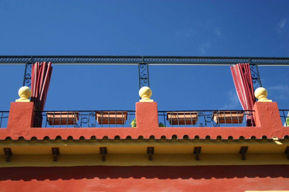 Sevilla - Balkon mit Aussicht