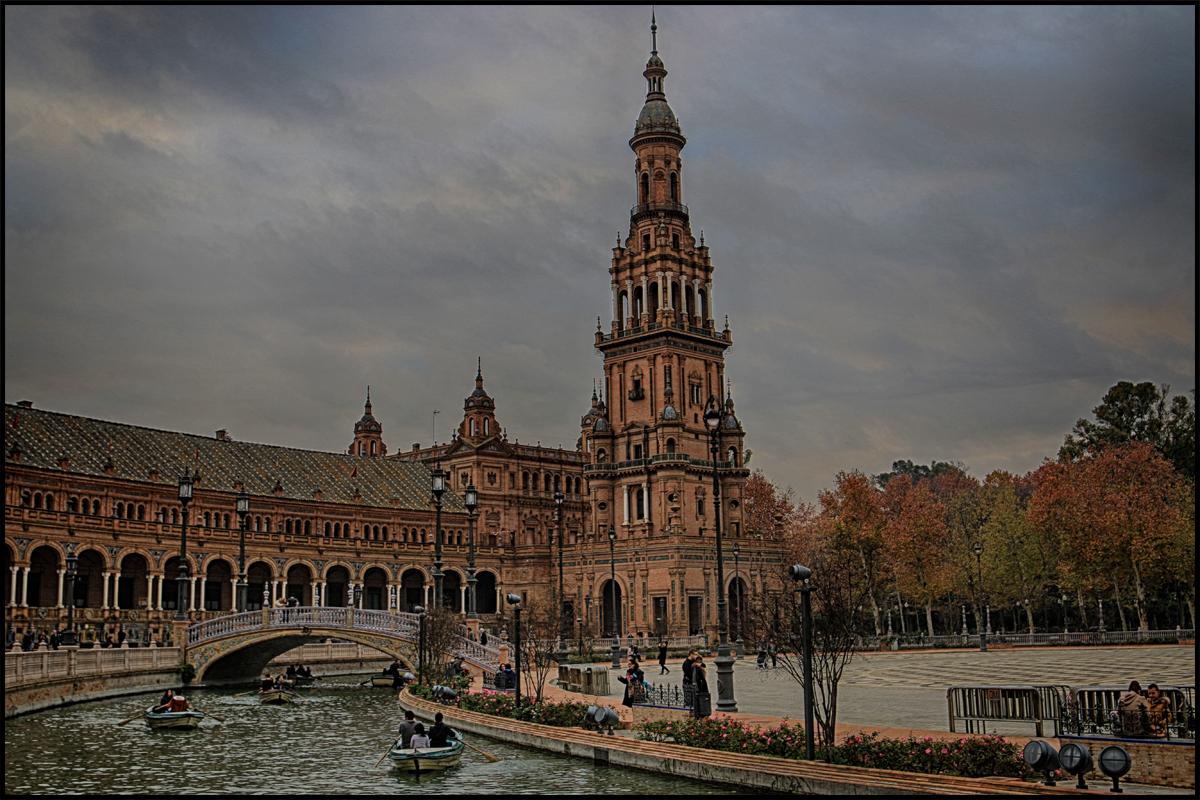 Sevilla en Navidad ¡preciosa!