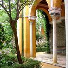 Sevilla - Hinterhofgarten