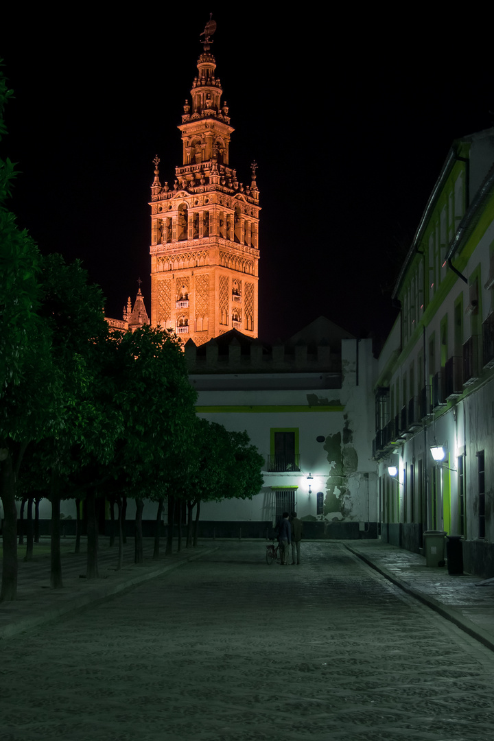 Sevilla, Nachts