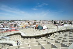 Seville from the Metropol Parasol I.