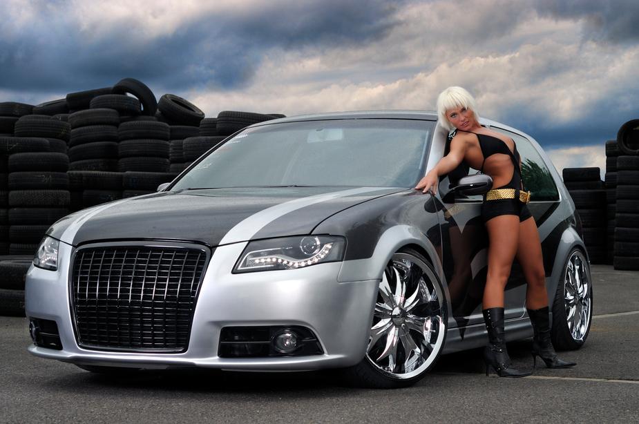 **Sexy Car-Shoot** Foto & Bild   fashion, outdoor, frauen