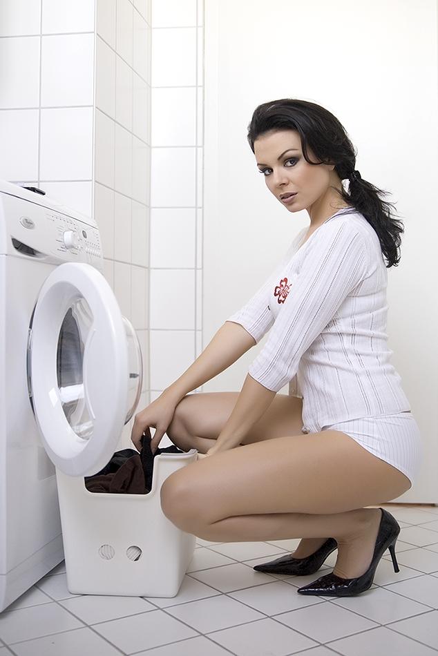 Sexy Waschtag mit Marina......