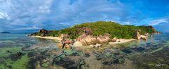 Seychellen Luftpanorama