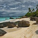 Seychelles Ile  Silhouette