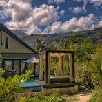 Seychells wohnen im Grünen