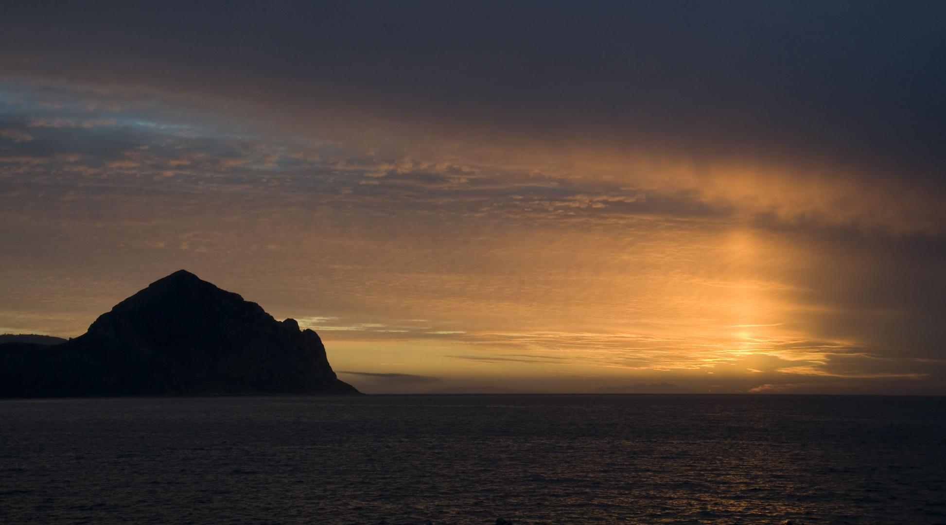 sfumature del tramonto