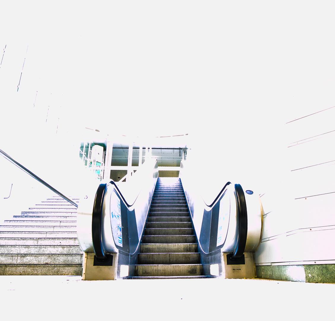 Shabby Stairway to Heaven