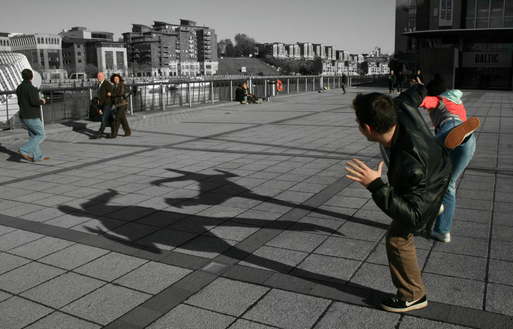 Shadow games in Newcastle upon Tyne