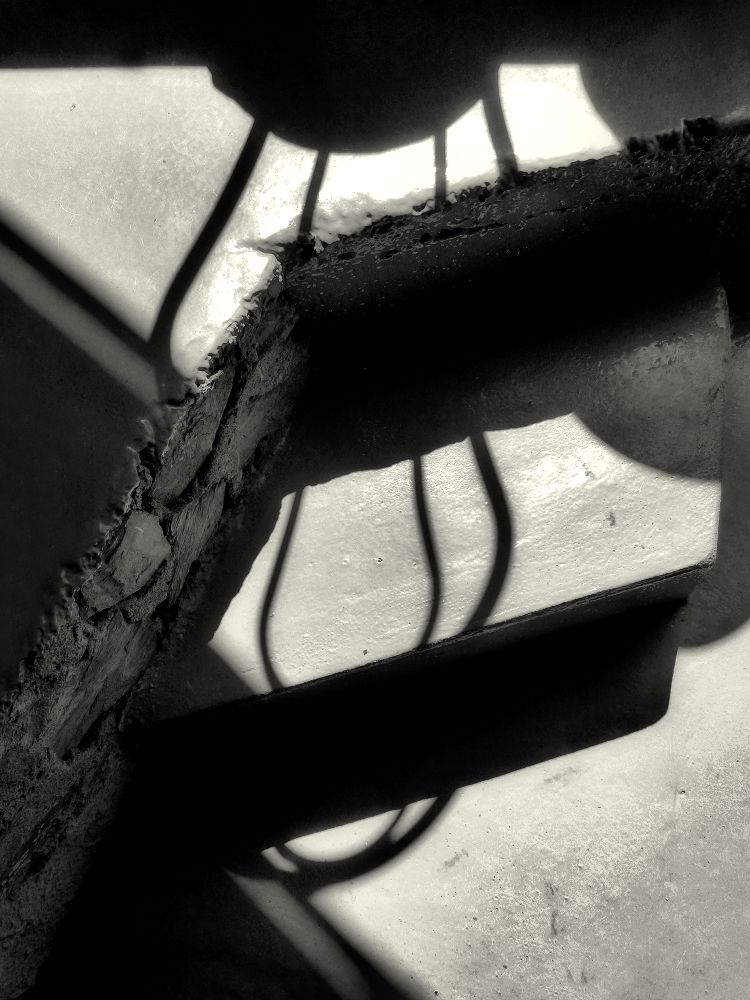 ... shadow of the chair