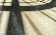 shadow on the floor
