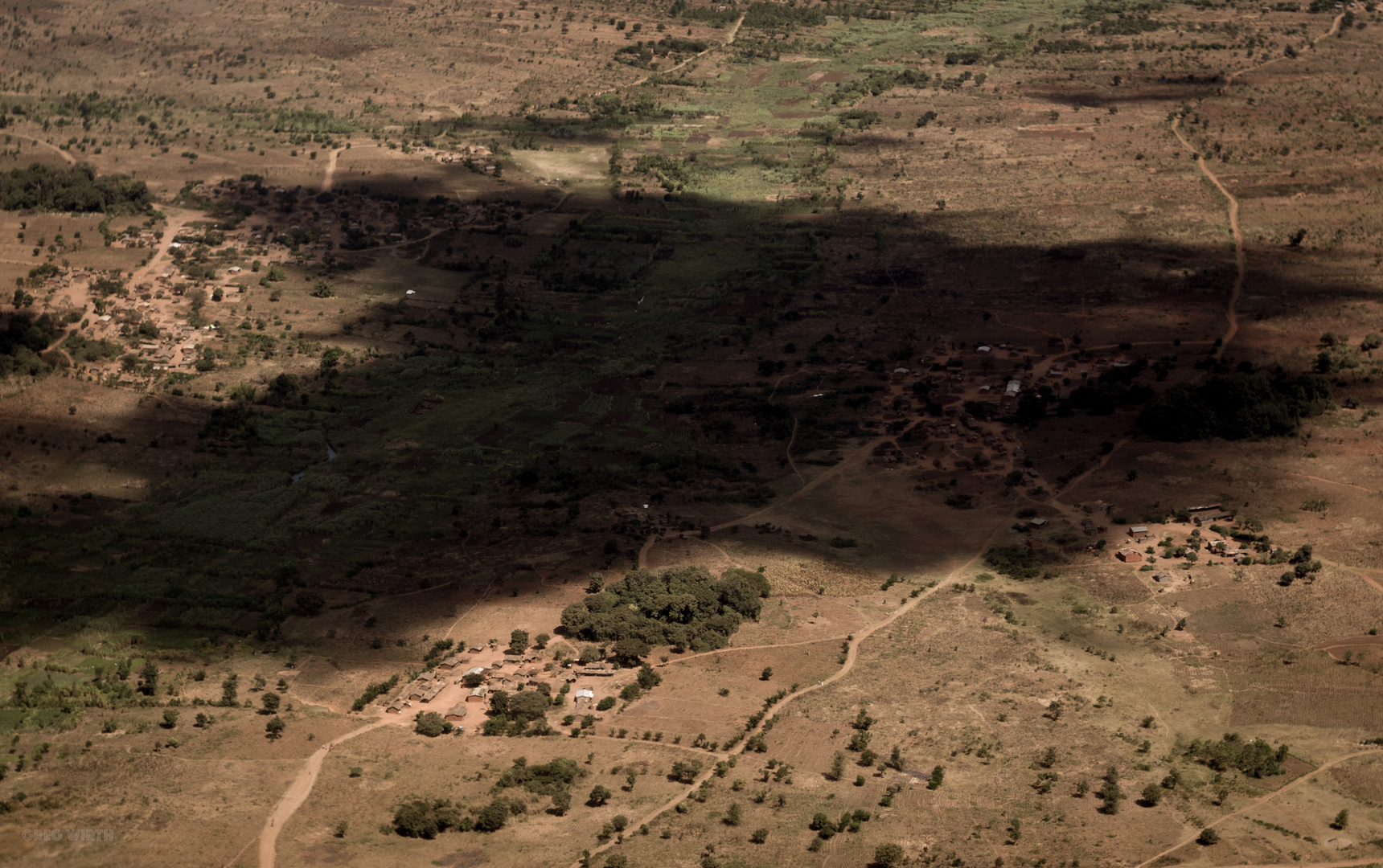Shadow over Africa