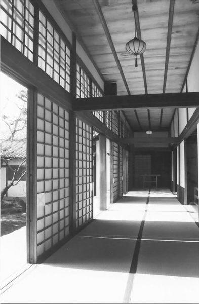Shadowed Walkway