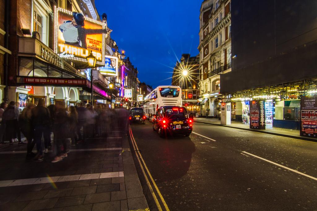 Shaftesbury Avenue West End London