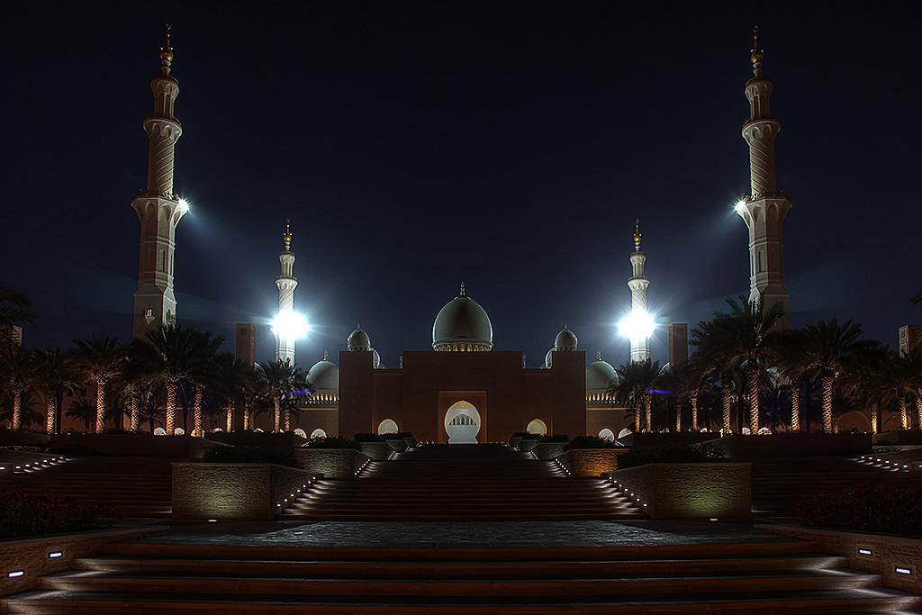 Shaik Zayed Moschee..