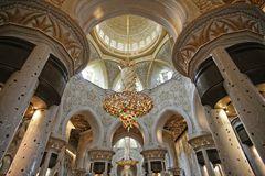 Shaikh Zayed Moschee in Abu Dhabi