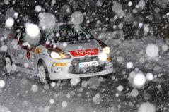 Shakedown im Schneegestöber