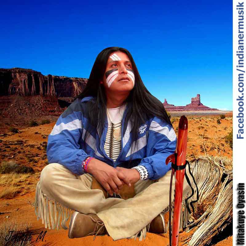 Shammo indianermusik flute