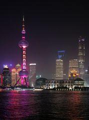 Shanghai -1- Fernsehturm