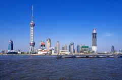 Shanghai 1997 - Pudong