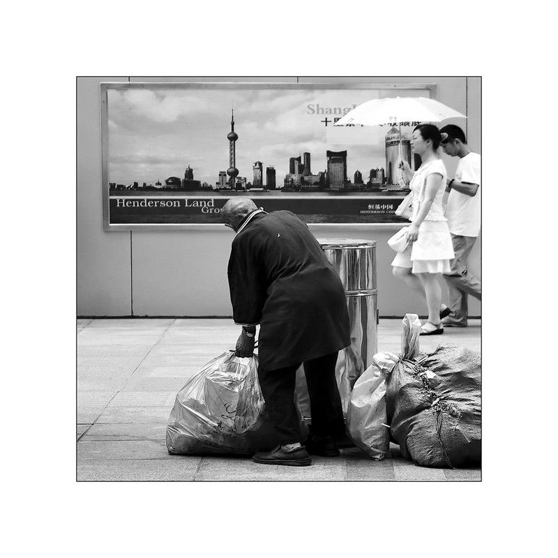 Shanghai Alltag, oder ...