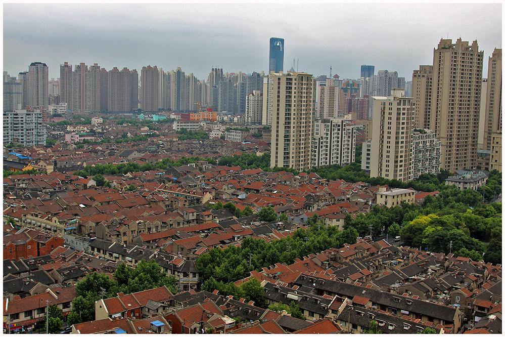 Shanghai- Erwachen in China