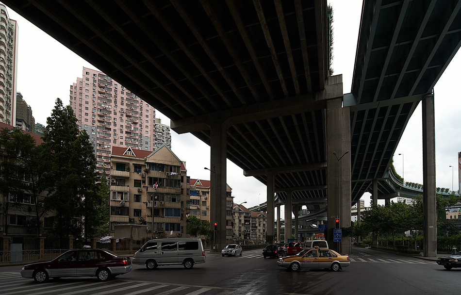 Shanghai - Leben und Wohnen unter der Straße