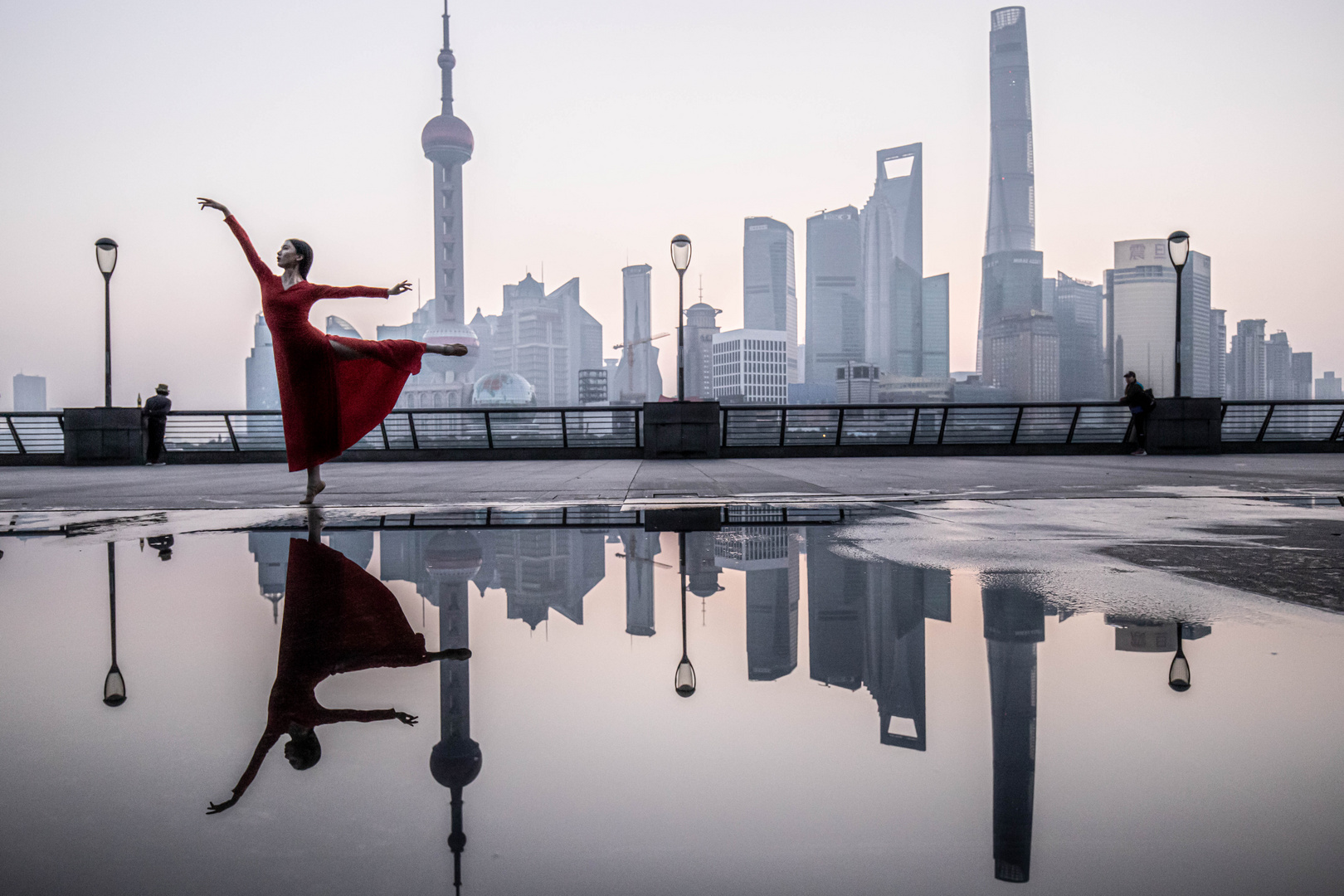 Shanghai Morning Dance