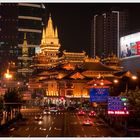 Shanghai Nights - Jing'an Tempel