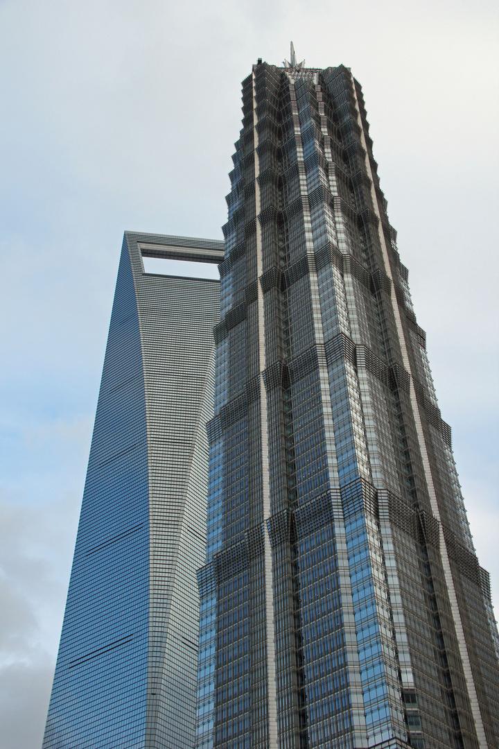 Shanghai - World Finance und Jinmao Tower