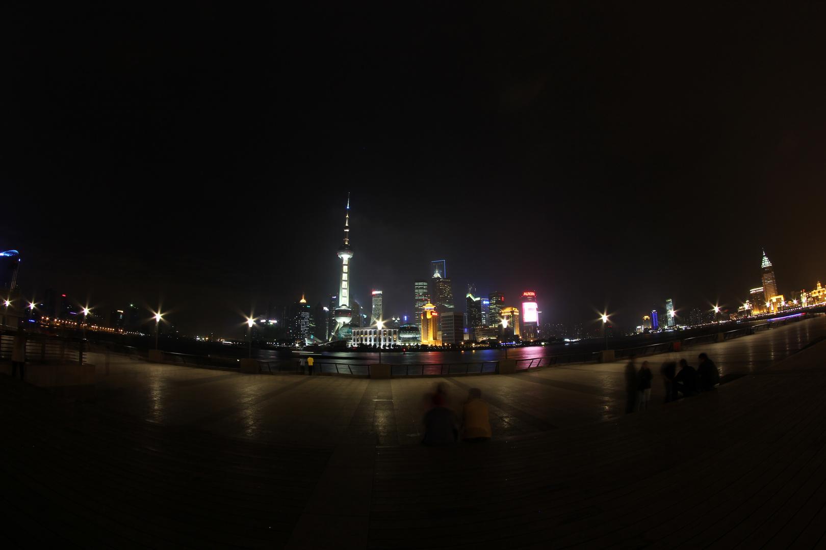 Shanghais berühmte Skyline