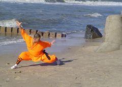 Shaolin Mönch beim Training