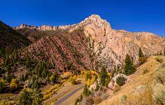 Sheep Creek Geological Loop, Flaming Gorge, Utah, USA
