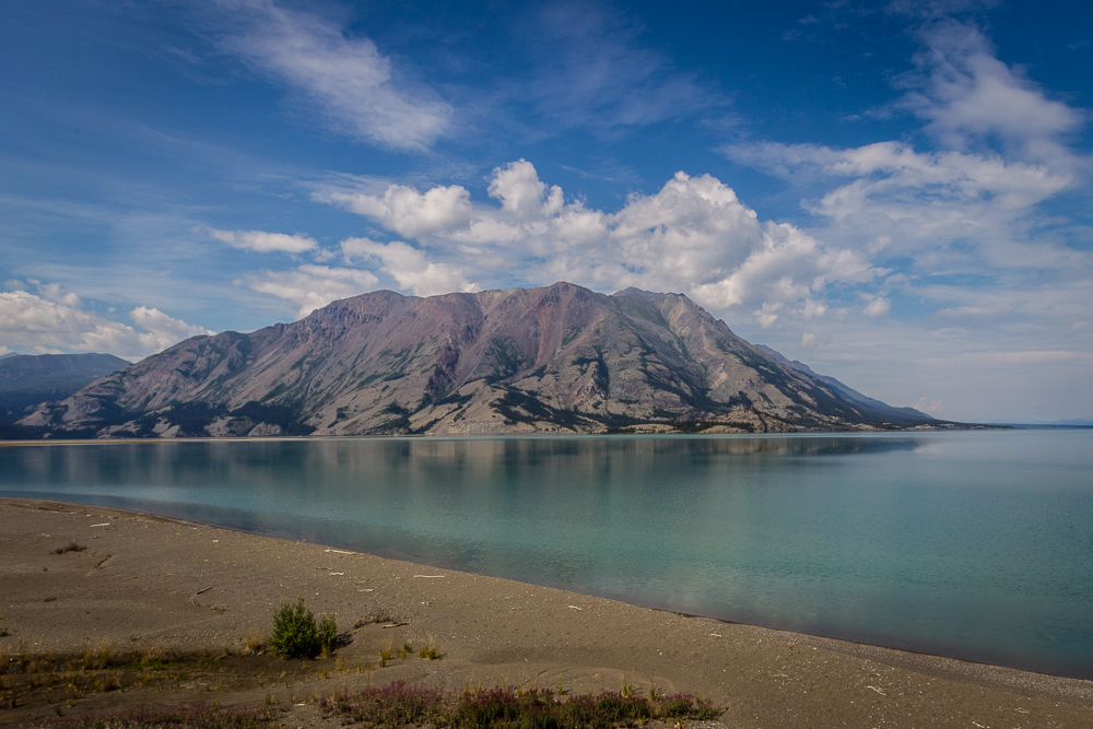 Sheep Mountain am Kluane Lake