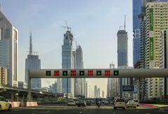 Sheikh Zayed lanes
