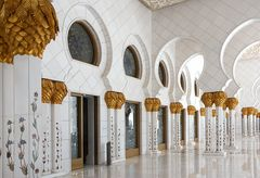 Sheikh-Zayed-Moschee Abu Dhabi