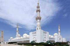 Sheikh-Zayed-Moschee in Abu Dahabi