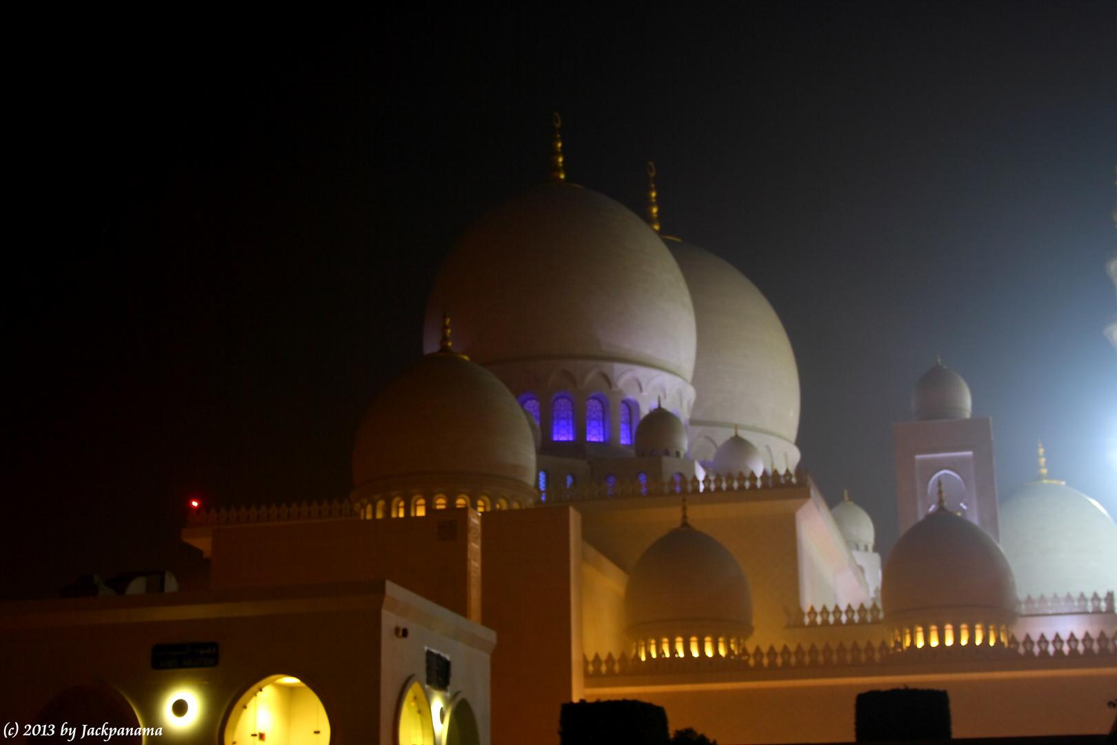 Sheikh-Zayed-Moschee in Abu Dhabi (2)