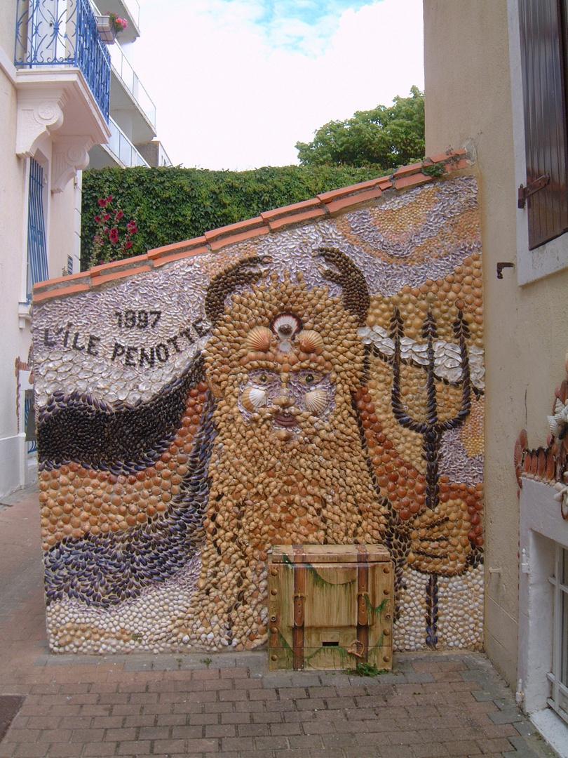 Shell Artwork in Les Sables d'Olonne