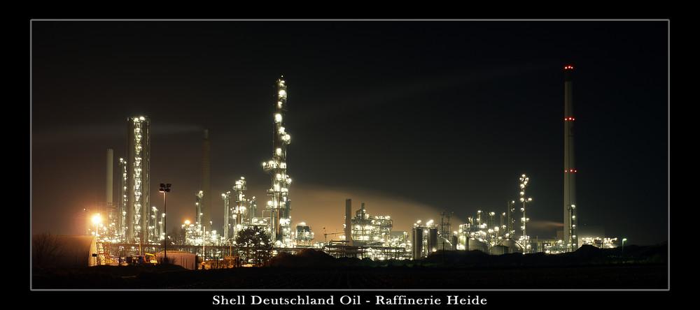 Shell Raffinerie Heide - überarbeitet