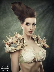 shells and hair