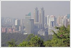 Shenzhen - Der Smog einer Stadt